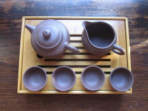 My personal gong fu set was a gift.
