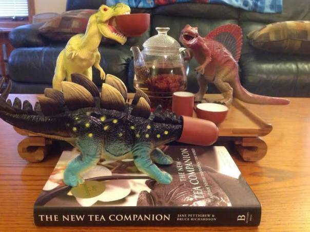 Tea-Rex and his friends