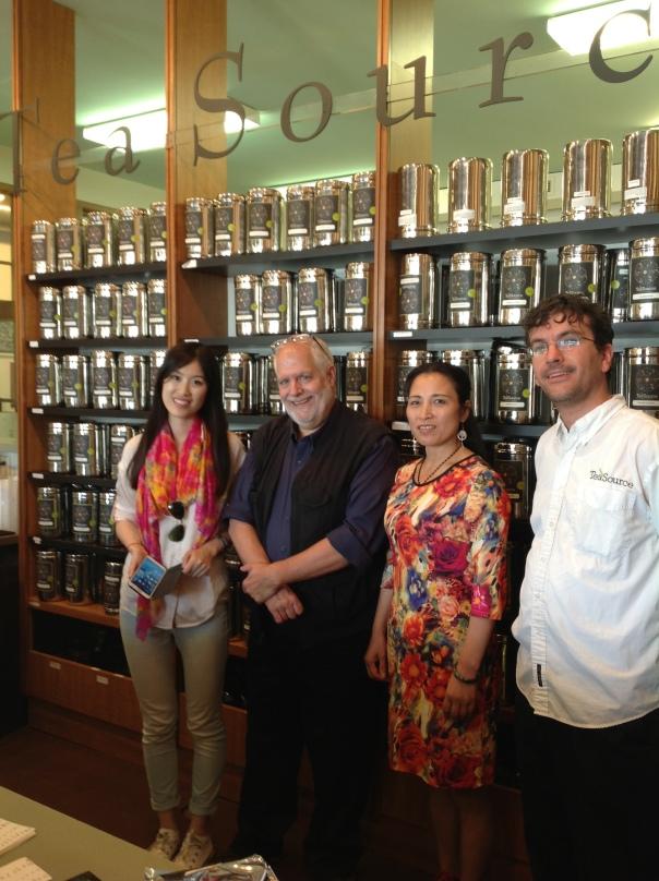 Joy, me, Ms Z, and Michael