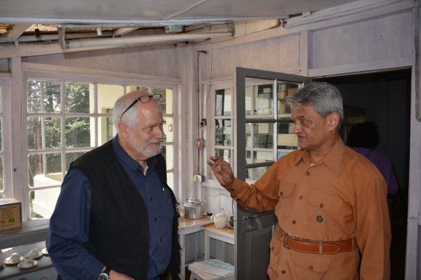 Listening to the vast knowledge of the (at the time) owner of the Makaibari Estate. There is always more to learn when it comes tea.