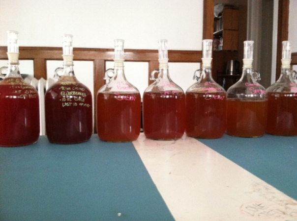 all bottled
