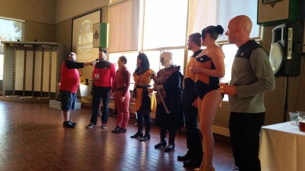 Star Trek costume contest